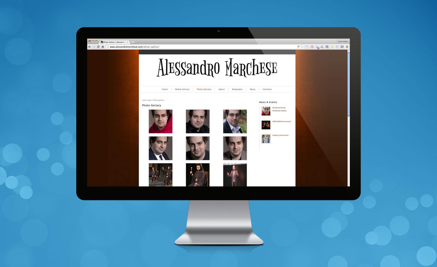 Sito Web Alessandro Marchese