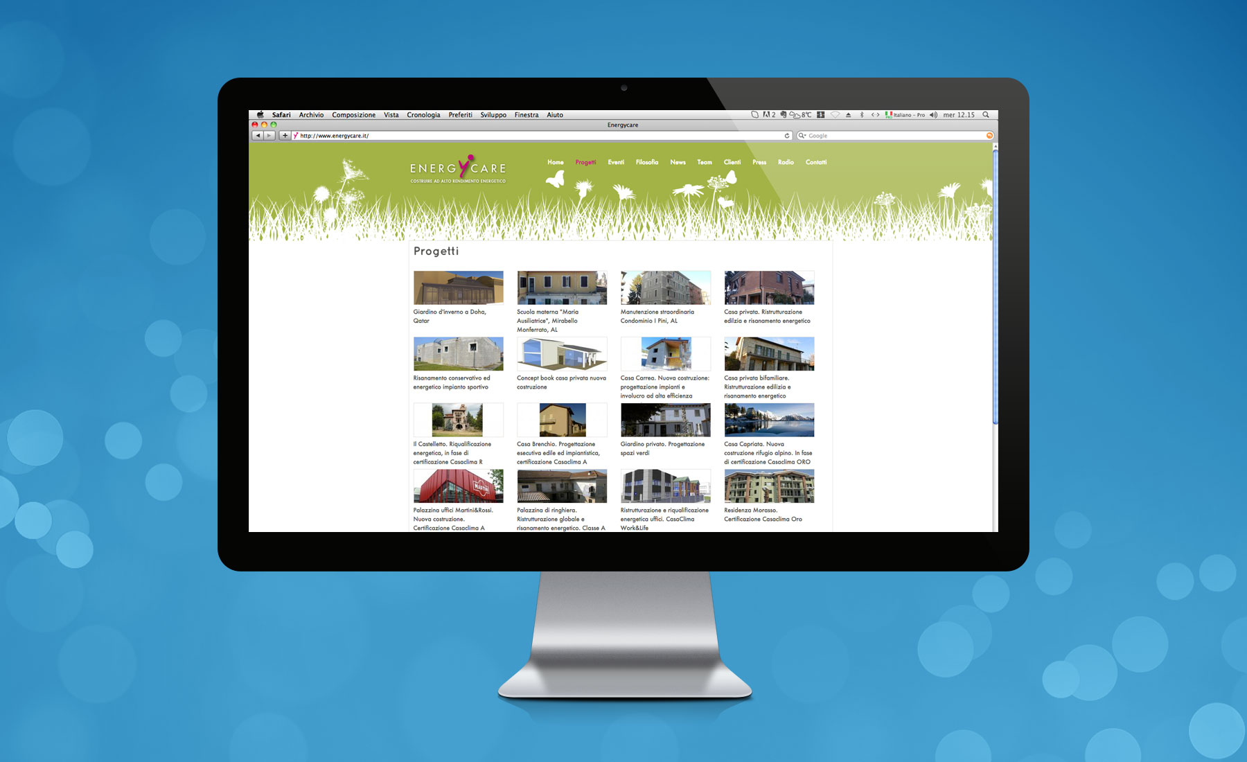 Sito Web Energycare