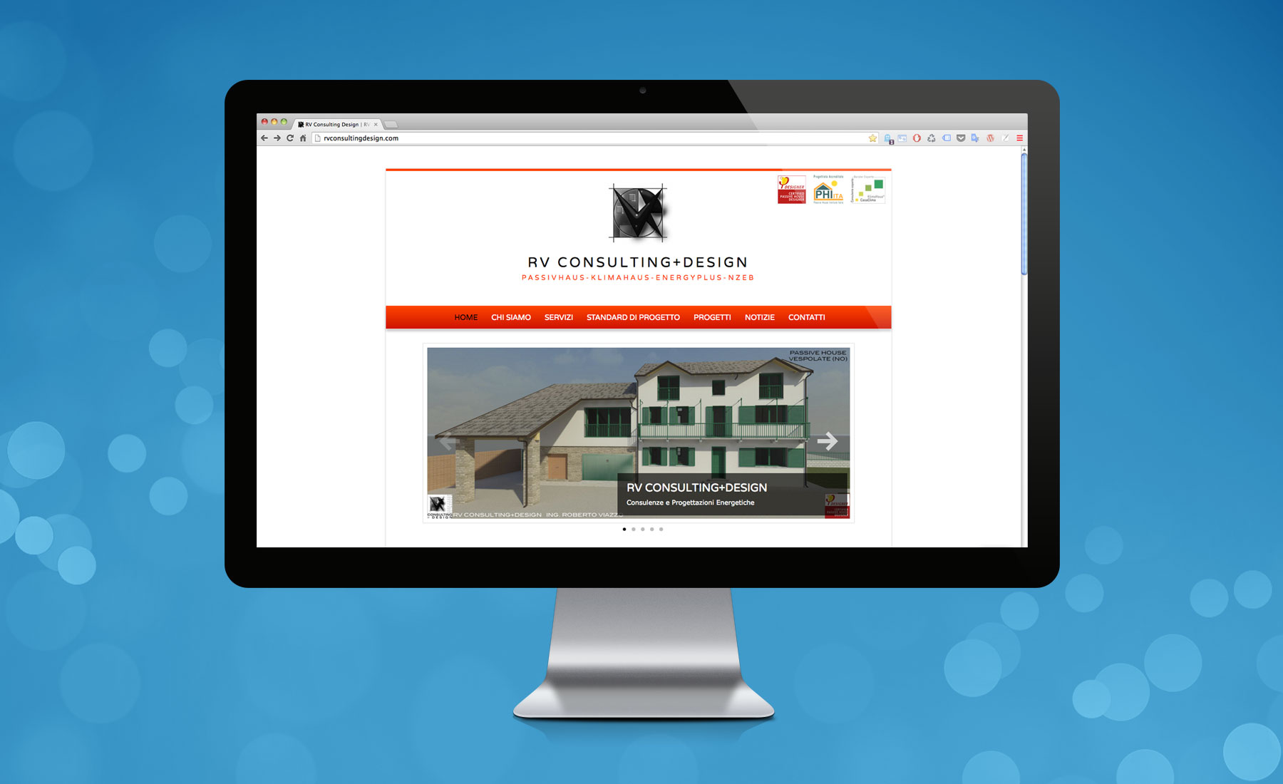 Sito Web RV Consulting