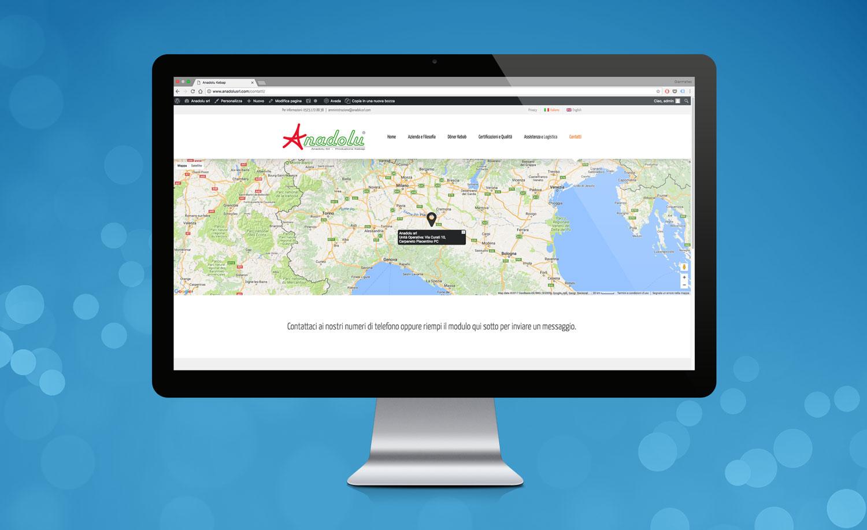 Realizzazione Sito Web Anadolu Kebap