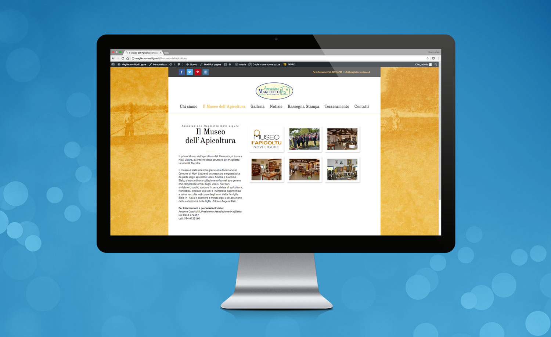Realizzazione Sito Web Maglietto-Novi Ligure